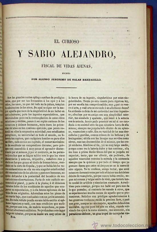 Libros antiguos: BIBLI. DE AUTORES ESPAÑOLES. NOVELISTAS POSTERIORES A CERVANTES. 2 VOL M. RIVADENEYRA, 1864/71. - Foto 8 - 26646229