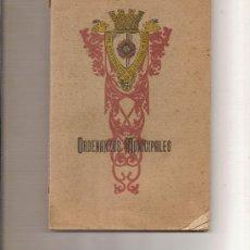 Libros antiguos: ORDENANZAS MUNICIPALES ,-EXMO AYUNTAMIENTO DE LA CIUDAD DE REUS AÑO 1905 -153 PAGINAS. Lote 27166649