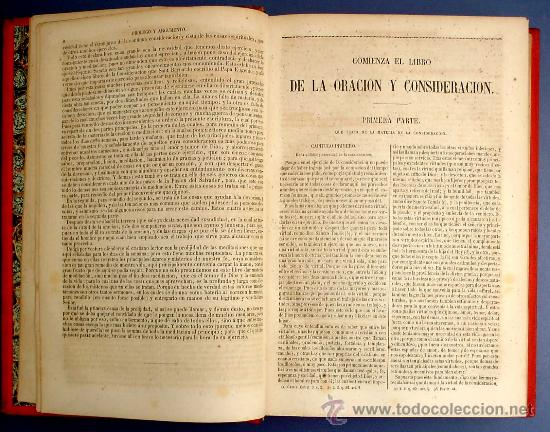 Libros antiguos: BIBL. DE AUTORES ESPAÑOLES. OBRAS DE FRAY LUIS DE GRANADA. 3 TOMOS. M. RIVADENEYRA ED, 1850/51/52. - Foto 6 - 23603962