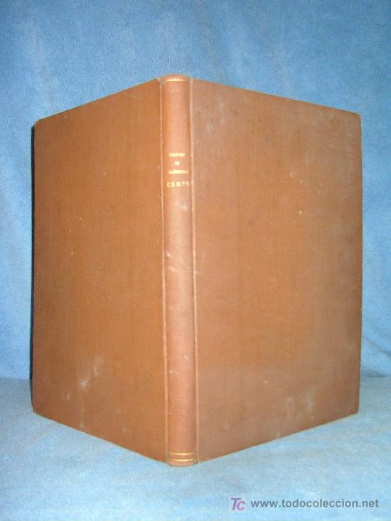 TRATADO DE SASTRERIA CAMPS - JUAN CAMPS COMA - ILUSTRADO. (Libros Antiguos, Raros y Curiosos - Ciencias, Manuales y Oficios - Otros)