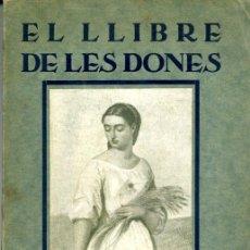 Libros antiguos: EL LLIBRE DE LES DONES - IVÓN L'ESCOP. Lote 26094910