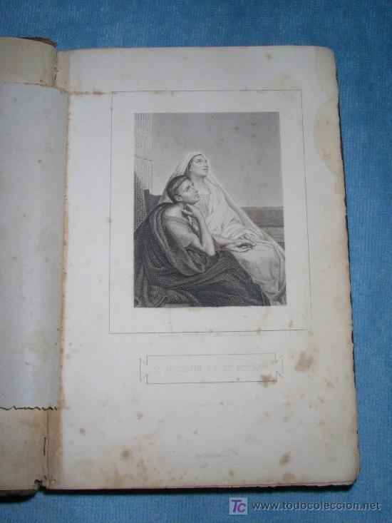 Libros antiguos: HISTORIA DE SANTA MONICA - BOUGAUD - AÑO 1877. - Foto 2 - 26831489