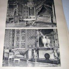 Libros antiguos: 60 LAMINAS - FURNITURE OF THE FIRST EMPIRE - LE MOBILIER DU PREMIER EMPIRE - MÖBEL DES ERSTEN KAISER. Lote 25345502