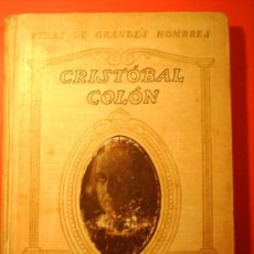 Libros antiguos: CRISTOBAL COLON 1928. Lote 20196605