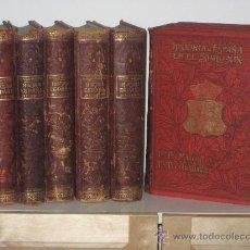 Libros antiguos: 1902.- HISTORIA DE ES ESPAÑA EN EL SIGLO XIX. 8 GRANDES TOMOS. Lote 33761005