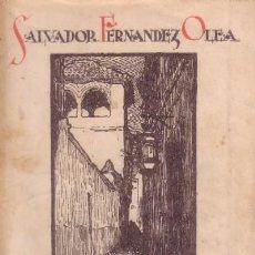 Libros antiguos: SUSPIROS DE ANDALUCIA. HOMENAJE AL FANDANGO (A/ FLA- 268). Lote 8479368