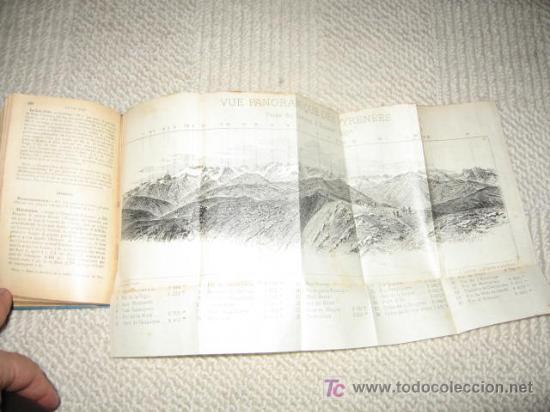 Libros antiguos: Pirineos. Pyrénées. Sud-Ouest de la France routes pour automobiles. Guides Conty. 1909. Mapas - Foto 3 - 25401748