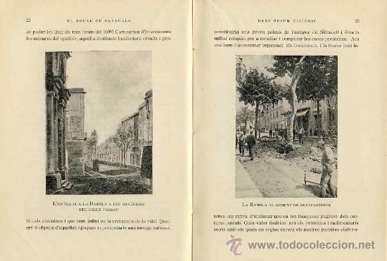 Libros antiguos: Llibre El rodal de Sabadell, den Josep Rosell. Anys 30 (veure foto adicional) - Foto 2 - 42338019