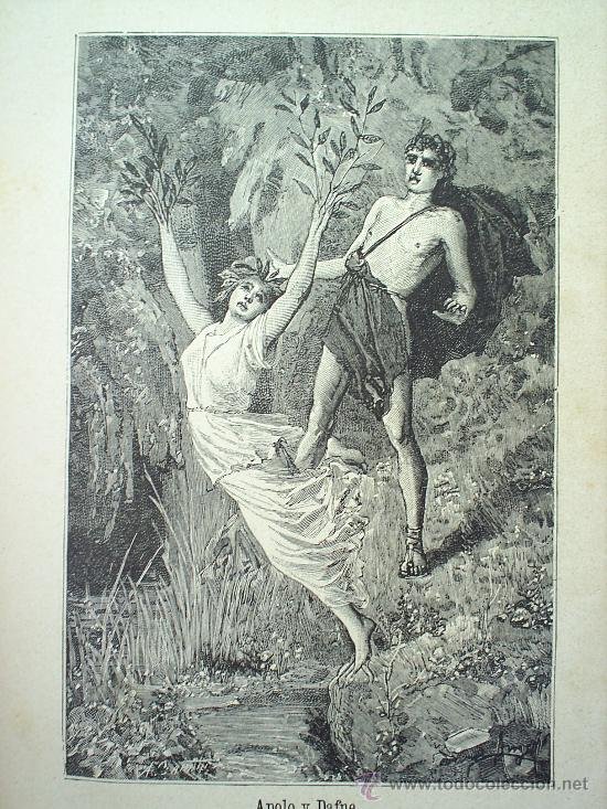 Libros antiguos: HISTORIA DE LA MITOLOGIA GRIEGA Y ROMANA 1892-- SATURNINO CALLEJA - Foto 4 - 26900492