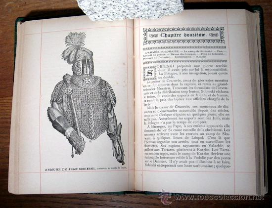 Libros antiguos: SOBIESKI ET LA MISSION DE LA POLOGNE.KERVYN DE VOLKAERSBEKE.1889.GRABADOS. - Foto 4 - 25859920