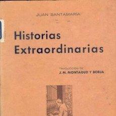 Libros antiguos: 1936 HISTORIAS EXTRAORDINARIAS. Lote 22224336