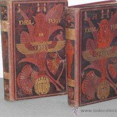 Libros antiguos: JORGE M. EBERS: AÑO 1881: LA HIJA DEL REY DE EGIPTO.. Lote 27271737