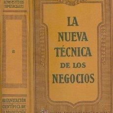 Libros antiguos: ORGANIZACION CIENTIFICA DE LA PRODUCCION. Lote 20195931