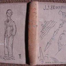 Libros antiguos: ITINÉRAIRE DE PARIS A BUENOS- AYRES, DE BROUSSON, CON DIBUJOS ORIGINALES DEL CARICATURISTA TRISTAN!!. Lote 26954865