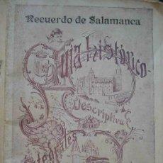 Libros antiguos: GUÍA HISTORICO DESCRIPTIVA DE LAS CATEDRALES DE SALAMANCA. 1900. Lote 9481096