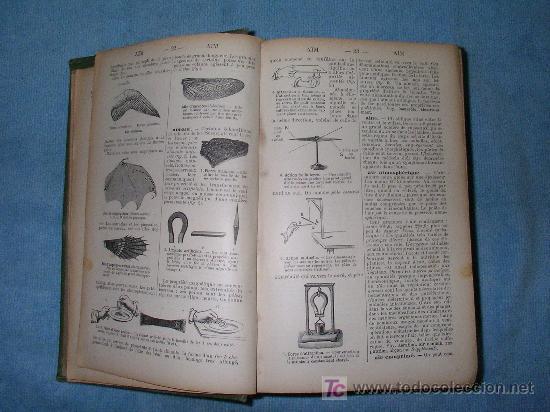 Libros antiguos: DICCIONARIO MANUAL ILUSTRADO DE LAS CIENCIAS - AÑO 1903 - BELLOS GRABADOS. - Foto 5 - 25038036