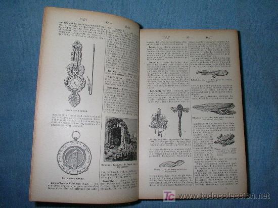 Libros antiguos: DICCIONARIO MANUAL ILUSTRADO DE LAS CIENCIAS - AÑO 1903 - BELLOS GRABADOS. - Foto 4 - 25038036