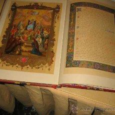 Libros antiguos: LA VIE ET LES MYSTÉRES DE LA VIERGE MARIE, MERE DE DIEU. UNA JOYA DE LA TIPOGRAFÍA, LA IMPRENTA Y EL. Lote 23439126