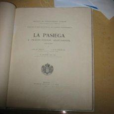 Libros antiguos: PEINTURES ET GRAVURES MURALES DES CAVERNES PALÉOLITHIQUES. LA PASIEGA A PUENTE-VIESGO (SANTANDER) . Lote 26629570
