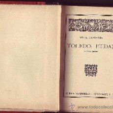 Libros antiguos: TOLEDO: PIEDAD. FÉLIX URABAYEN. . Lote 21160342