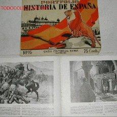 Libros antiguos: PORTFOLIO HISTORIA DE ESPAÑA. LA HISTORIA DE ESPAÑA A TRAVÉS DE LAS GRANDES OBRAS DE ARTE.. Lote 263193890