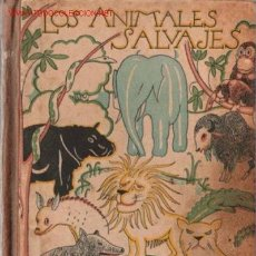 Alte Bücher - Los animales salvajes - 17892495