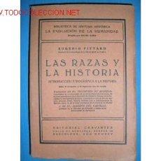 Libros antiguos: LAS RAZAS Y LA HISTORIA.INTRODUCCION ETNOGRAFICA. 1925.. Lote 1076612