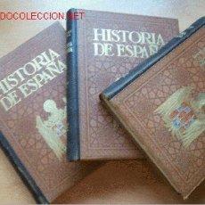 Libros antiguos: HISTORIA DE ESPAÑA Y DE LOS PUEBLOS HISPANOAMERICANOS HASTA SU INDEPENDENCIA. POR MIGUEL S. OLIVER. Lote 26777430