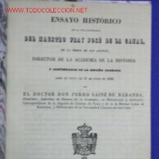 Libros antiguos: ENSAYO HISTORICO SIGLO XIX. Lote 14166393