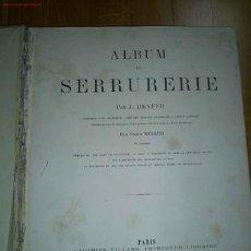 Libros antiguos: ALBUM DE SERRURERIE. Lote 23600258