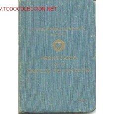 Libros antiguos: ALTOS HORNOS VIZCAYA. PRONTUARIO VIGUETAS.1929. Lote 1803373