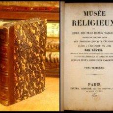 Alte Bücher - 1836 - Historia Sagrada CON 70 fINÍSIMAS Láminas grabadas fuera texto - 1889091