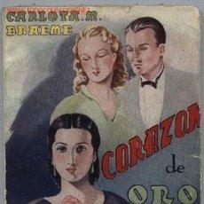 Libros antiguos: CORAZÓN DE ORO (AÑO 1920). Lote 14574455