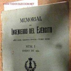 Libros antiguos: MEMORIAL DEL EJÉRCITO, 1914.. Lote 1945845