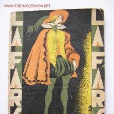 Libros antiguos: HILOS DE ARAÑA.- LINARES - FARSA,76.. Lote 26667281