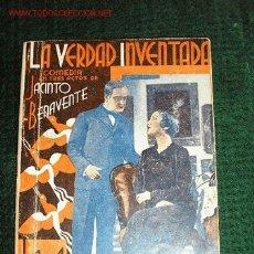 Libros antiguos: LA VERDAD INVENTADA - BENAVENTE.. Lote 26208381