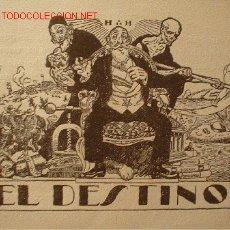 Libros antiguos: 1911.- EL DESTINO Y EL ALMA DEL QUIJOTE. RECUERDOS DE GUERRA. (2 VOLÚMENES). MASONERIA. Lote 26924498