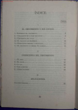 Libros antiguos: CATECISMOS DEL AGRICULTOR Y GANADERO. CRECIMIENTO DE LOS VEGETALES. Nº 44. ED. CALPE,MADRID, 1922. - Foto 3 - 16931718