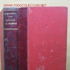 Libros antiguos: (L-136) BOCETO AL TEMPLE - JOSE MARÍA PEREDA - FECHADO SIN IDENTIFICAR PRINCIPIOS SIGLO XX. Lote 22816728