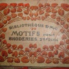 Livres anciens: BIBLIOTHEQUE DMC MOTIFS POUR BRODERIES,BORDADOS,BROCADOS. Lote 25098279