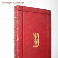 Libros antiguos: EXCURSIONES Y RECUERDOS, POR ADOLFO DE AGUIRRE. 1ª ED. DED. AUTÓGRAFA. 1871 SANTANDER, BILBAO. Lote 23791568