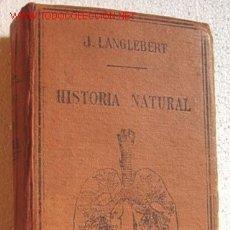 Libros antiguos: HISTORIA NATURAL, POR LANGLEBERT. Lote 20111189