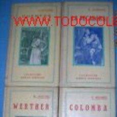 Libros antiguos: COLECCION AMBOS MUNDOS. LOTE CON 4 NOVELAS AÑOS 1907.. Lote 2504005