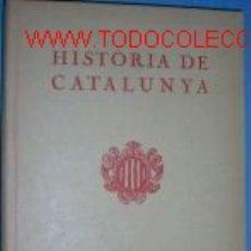 Libros antiguos: HISTORIA DE CATALUNYA, PER NORBERT FONT SAGUE. 1933..... Lote 2617038