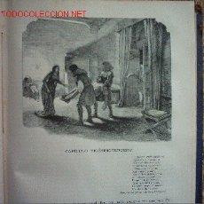 Libros antiguos: OBRAS COMPLETAS DE MARIANO JOSE DE LARRA (FIGARO). 1886. PRIMERA EDICION. ILUSTRADO.. Lote 26358226