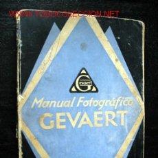 Libros antiguos: MANUAL GEVAERT. Lote 13741819