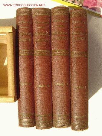 FORTUNATA Y JACINTA 1ª EDICION 1887 (Libros Antiguos, Raros y Curiosos - Literatura - Otros)