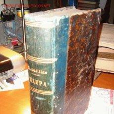 Libros antiguos: 1898.- EL DELINCUENTE ESPAÑOL. HAMPA (ANTROPOLIGÍA PINTORESCA) POR RAFAEL SALILLAS. Lote 26192294