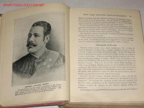 Libros antiguos: War in Cuba, or the Great Struggle for Freedom, por Gonzalo de Quesada y Henry Davenport Nortthrop - Foto 3 - 23746903