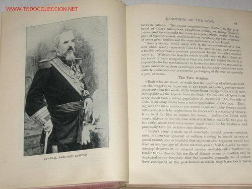 Libros antiguos: War in Cuba, or the Great Struggle for Freedom, por Gonzalo de Quesada y Henry Davenport Nortthrop - Foto 4 - 23746903